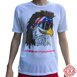 AM Free Bird Sublimated Poly T-Shirt