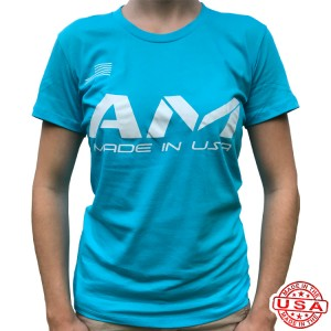 AM Ladies T-Shirt Turquoise