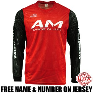 AM Mesh Jersey Red/ Black